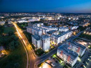 Zdjęcia z drona nieruchomości