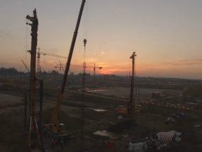 Filmowanie inwestycji i placów budowy
